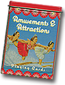 Amusement Park and Attraction Playing Cards