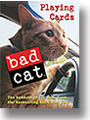 Bad Cat Playing cards by Kathy Herlihy-Paoli