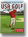 Golf USA Playing Cards