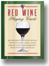 Red Wine Playing Cards from Inkstone Designs