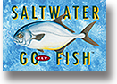 Saltwater Go Fly Fish Playing Cards