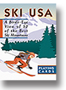 Inkstone designs Ski USA playing cards