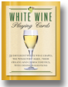 White Wine Playing Cards from Inkstone Designs